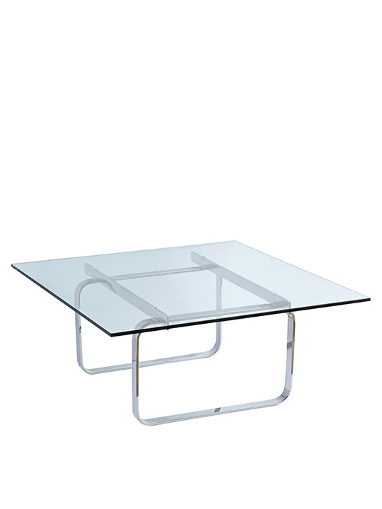 Benton Glass Coffee Table