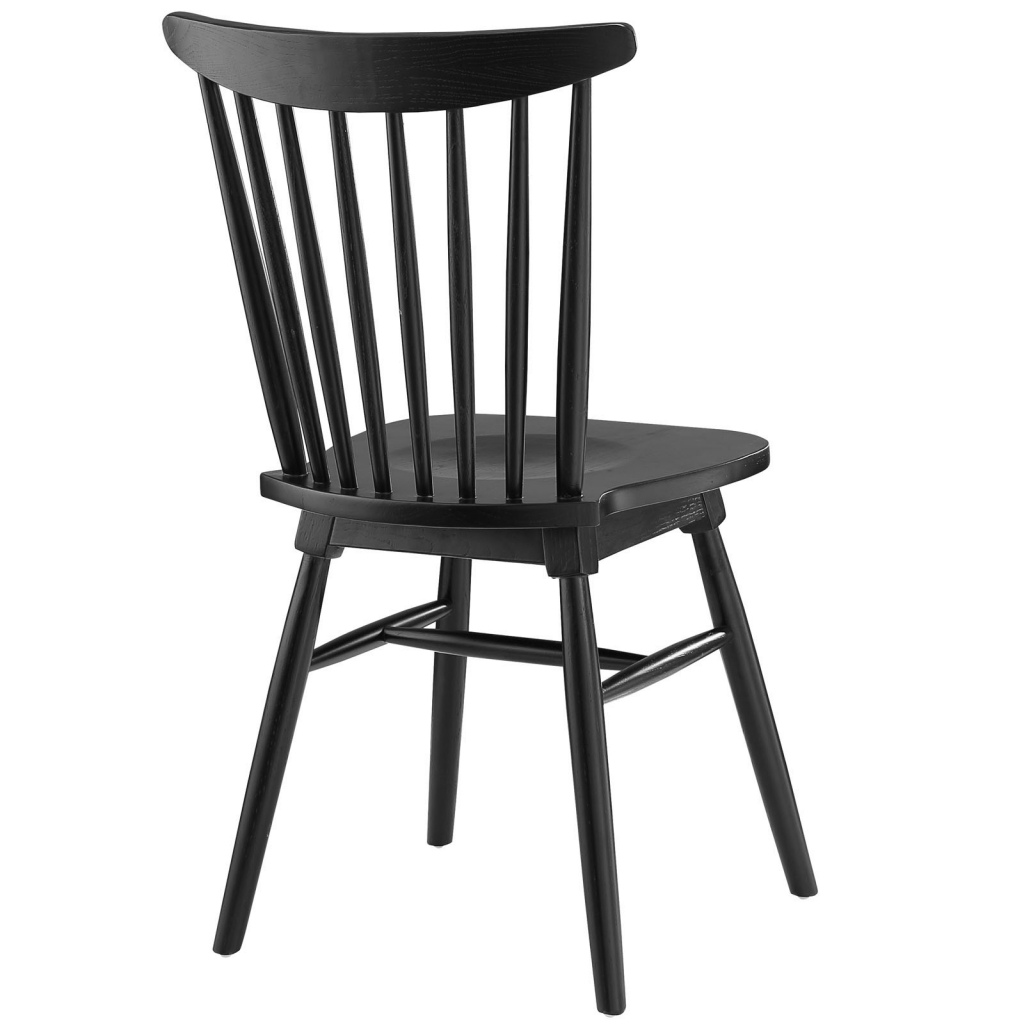 Black Wood Frazen Chair 2