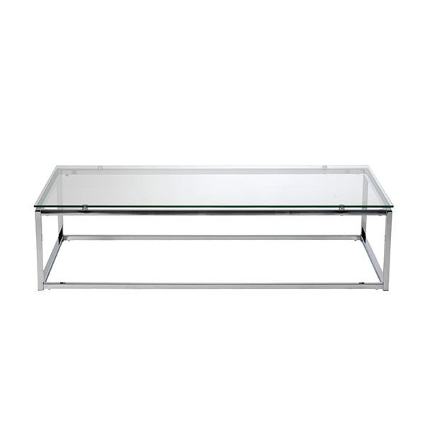 Chrome Glass Coffee Table