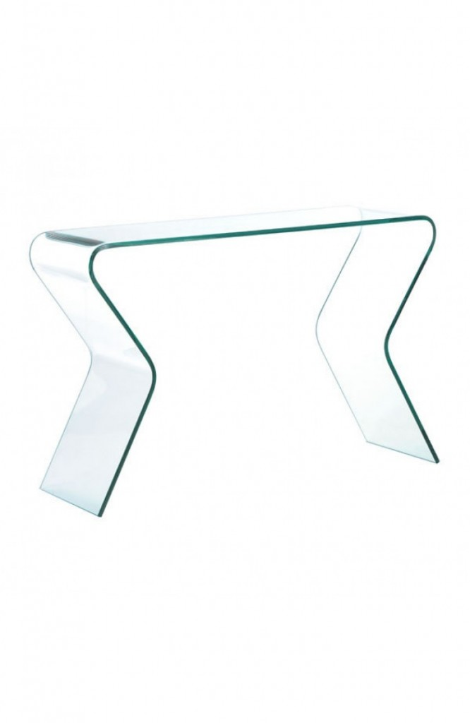 Emerge Glass Console Table 3