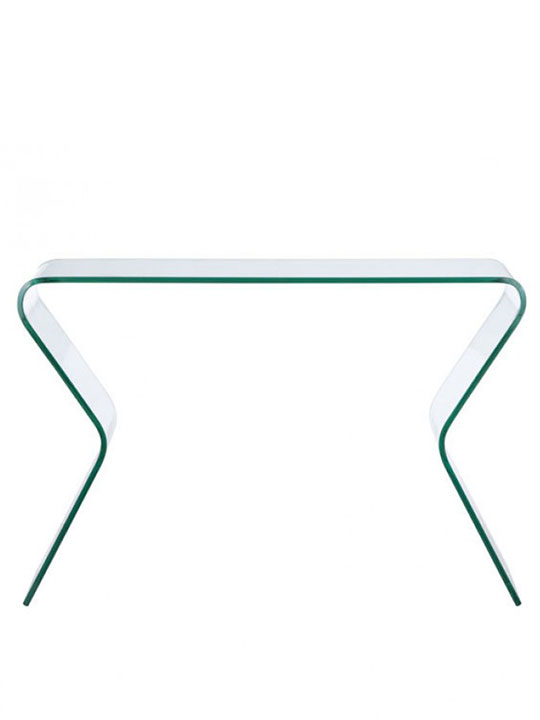 Emerge Glass Console Table