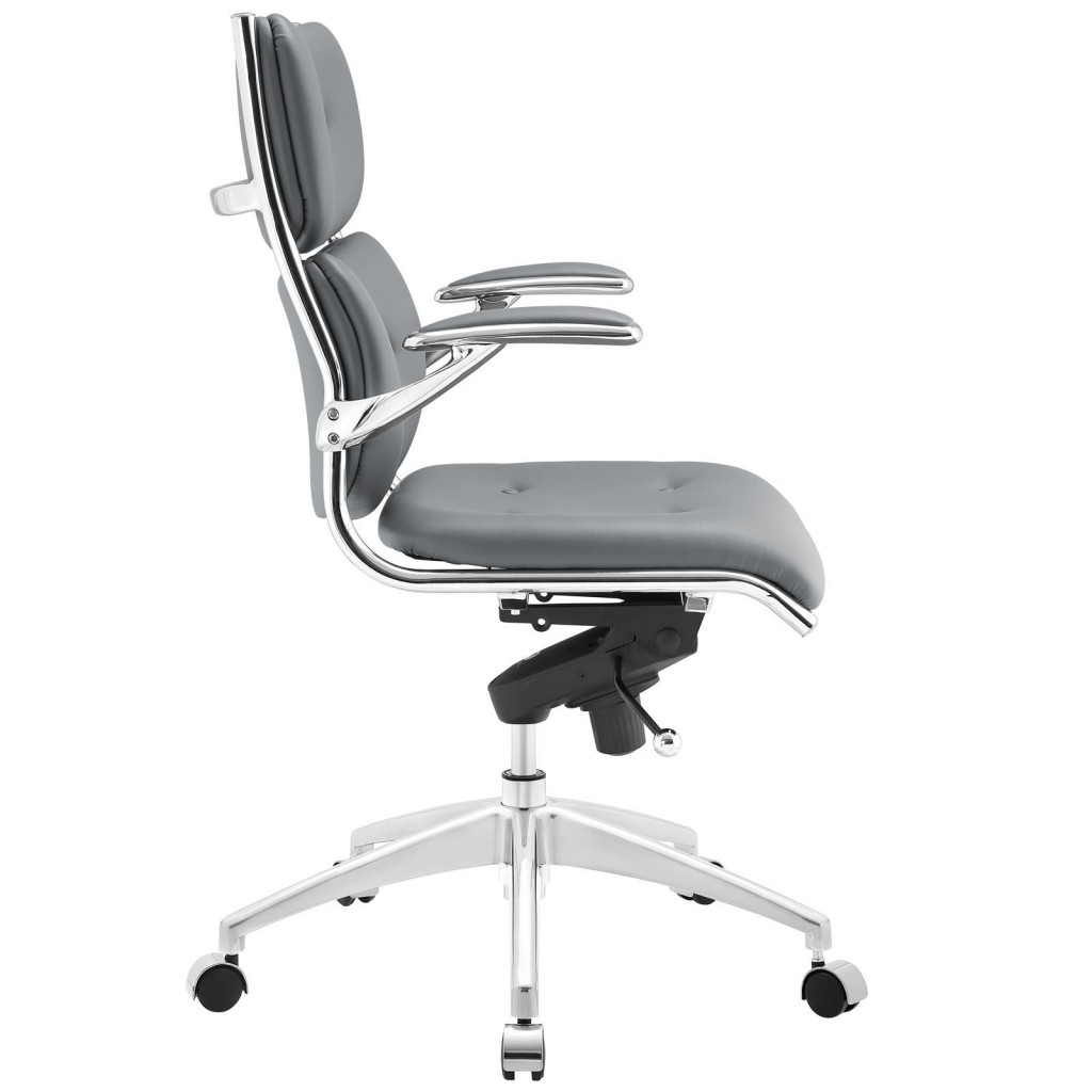 Gray Instant Director Office Chair