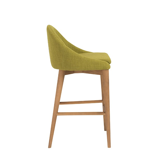 Green Fabric Westside Barstool 3