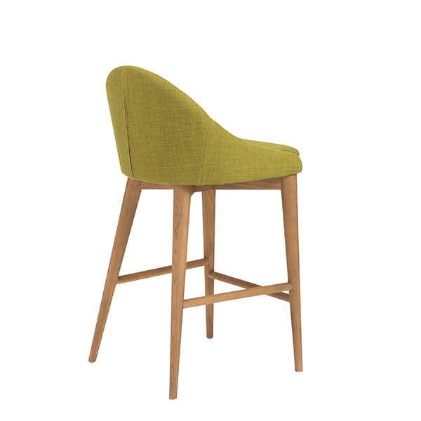 Green Fabric Westside Barstool 4