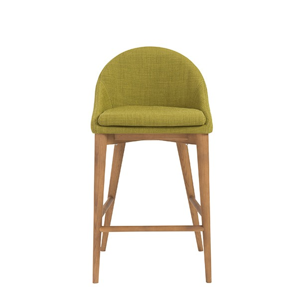 Green Fabric Westside Barstool