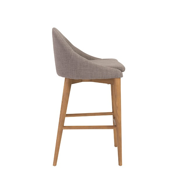 Grey Fabric Westside Barstool 3