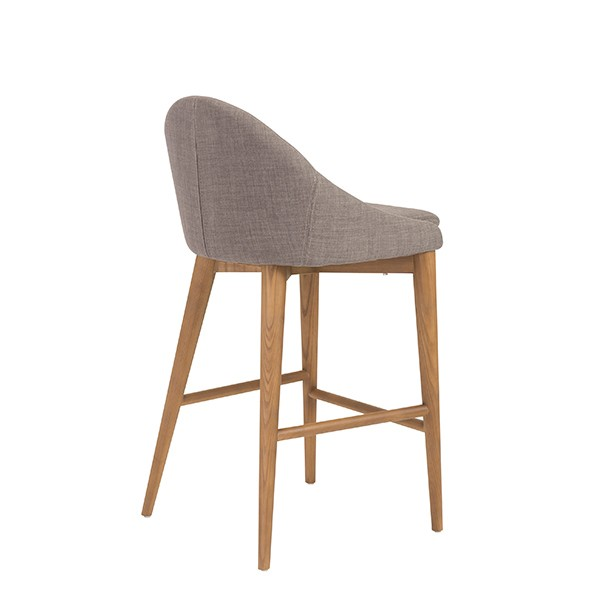 Grey Fabric Westside Barstool 4