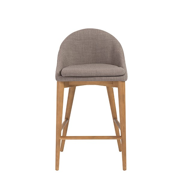 Grey Fabric Westside Barstool