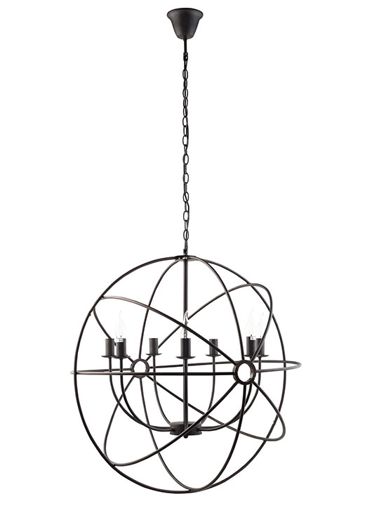 Helioscope Chandelier 1