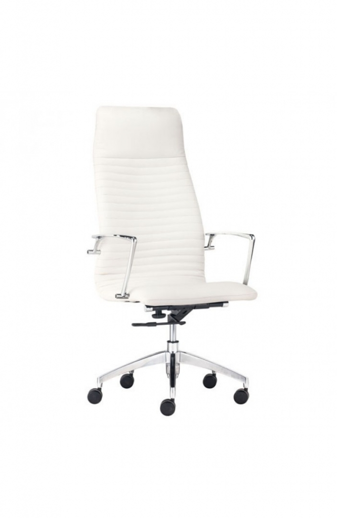 Instant Advisor High Back White Office Chair