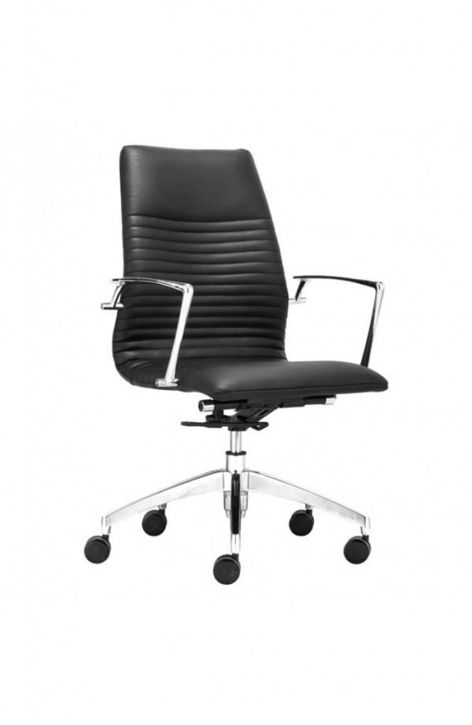 Instant Advisor Low Back Black Office Chair 4