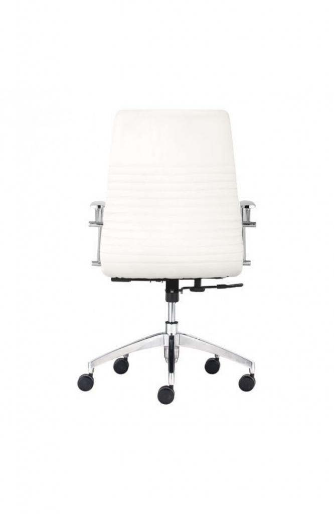 Instant Advisor Low Back White Office Chair 2