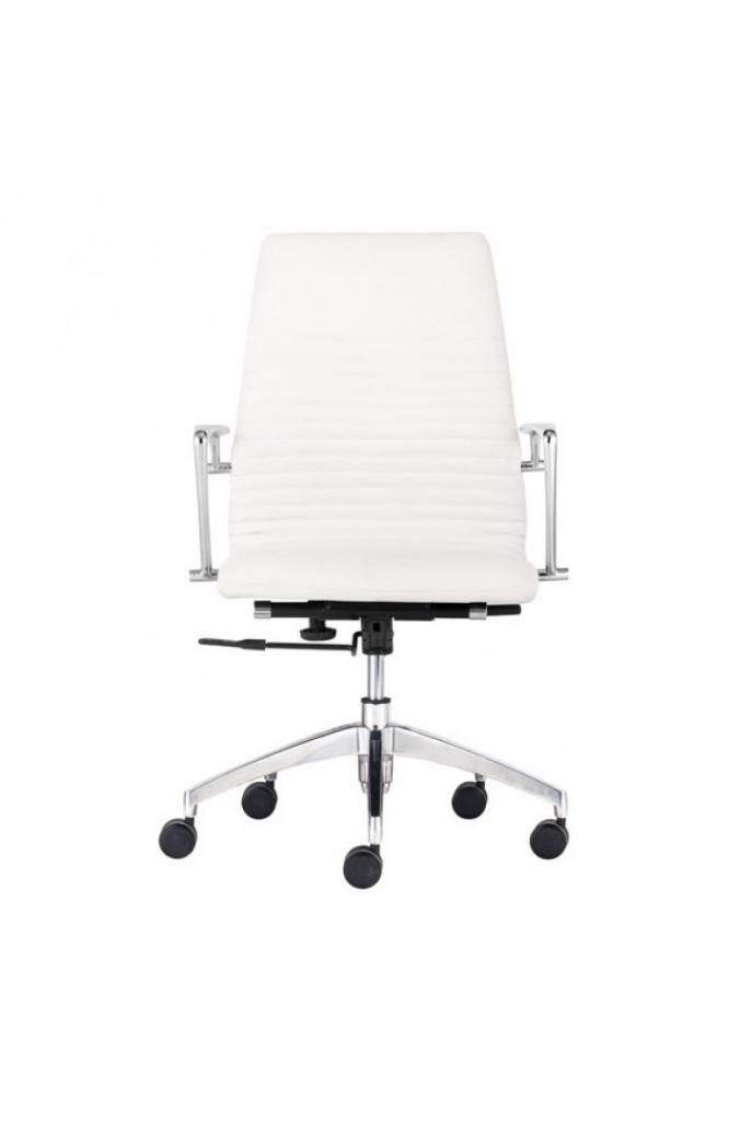 Instant Advisor Low Back White Office Chair