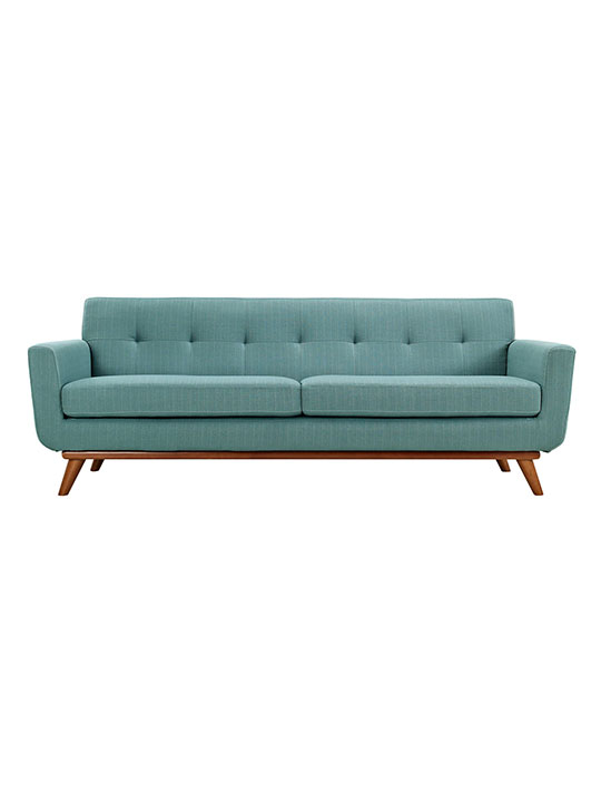 Light Blue Pop Art Sofa