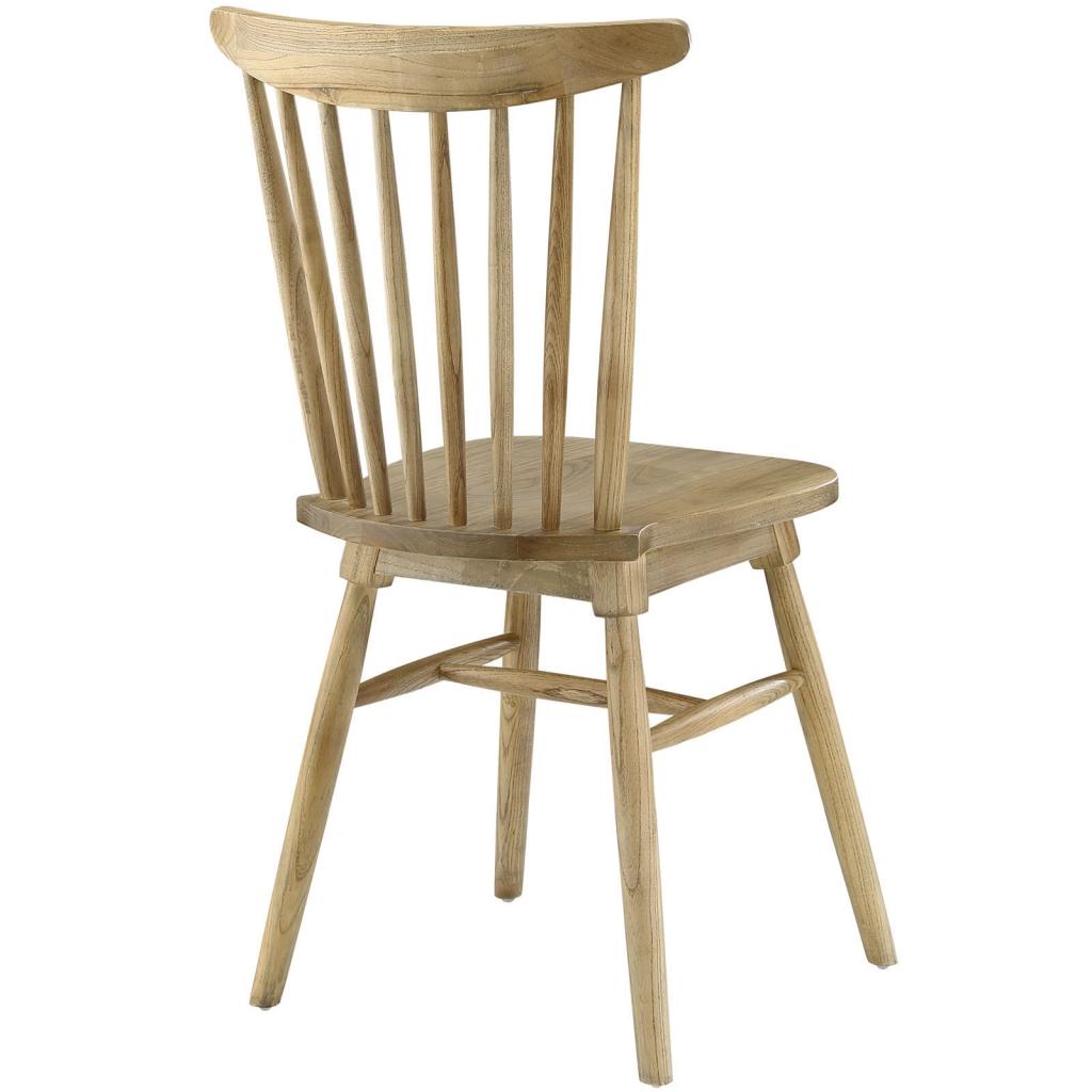 Natural Wood Frazen Chair 1
