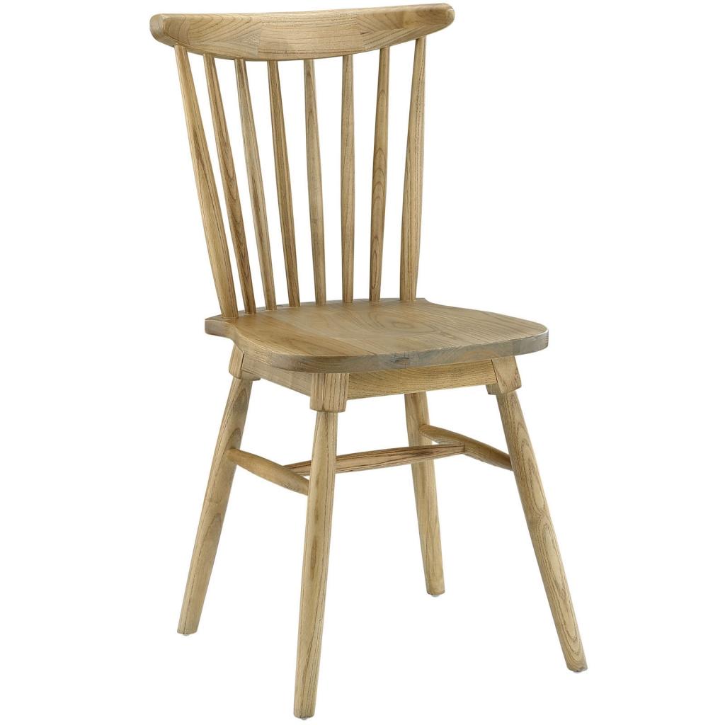 Natural Wood Frazen Chair 3