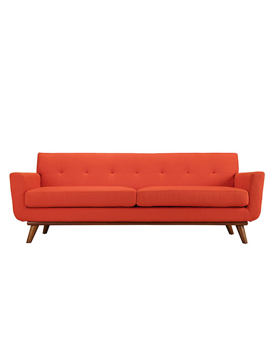 Red Orange Pop Art Sofa