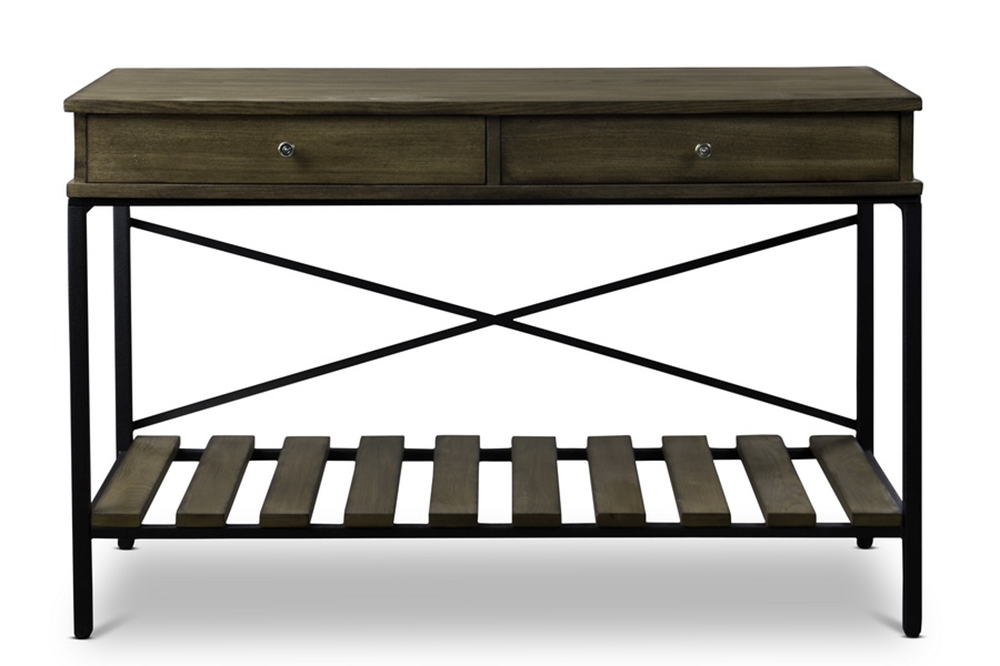 Route Wood Console Table 2