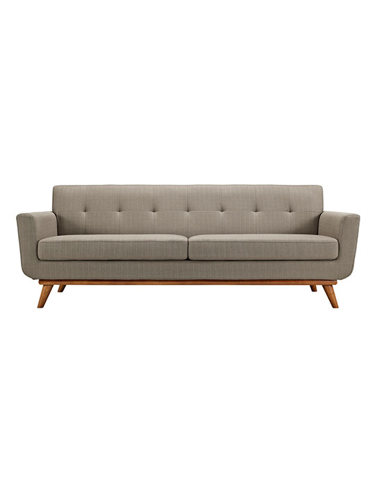Taupe Pop Art Sofa