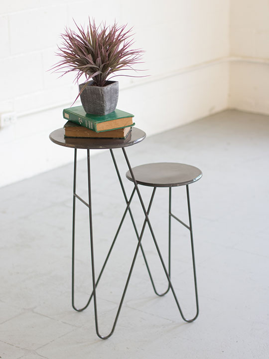 Tier Wire Side Table