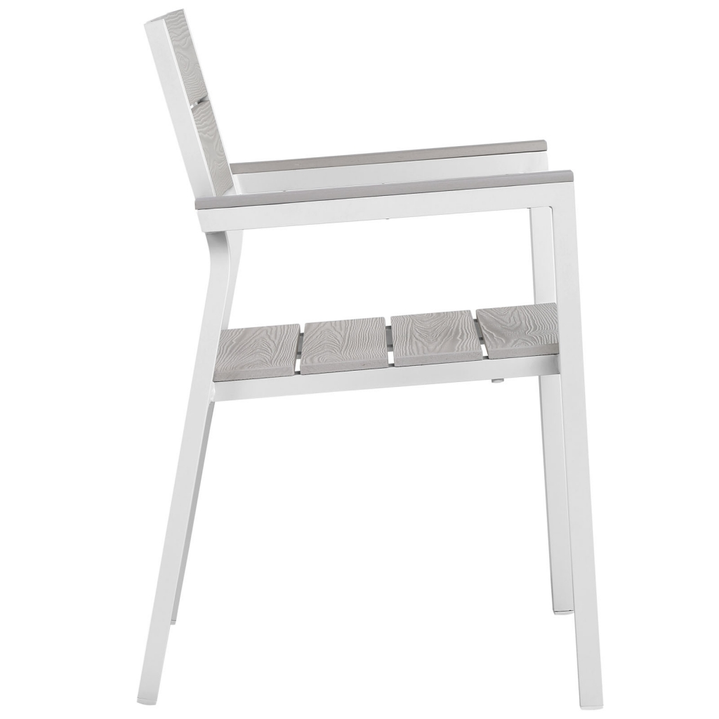 Villa Modern White Outdoor Chair