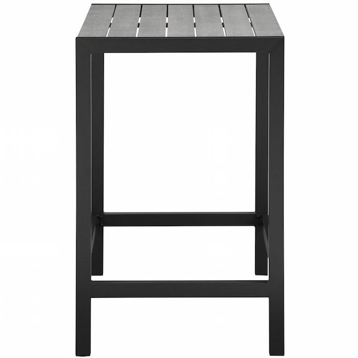 Villa Outdoor Bar Table Black 2
