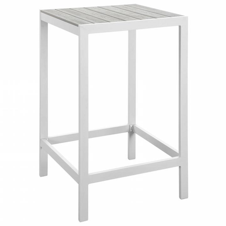Villa Outdoor Bar Table White 1