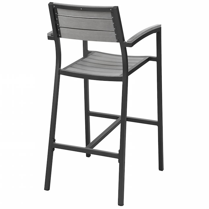 Villa Outdoor Barstool Black 3