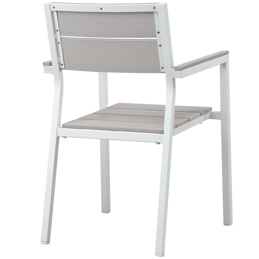 Villa Outdoor Chair White 3