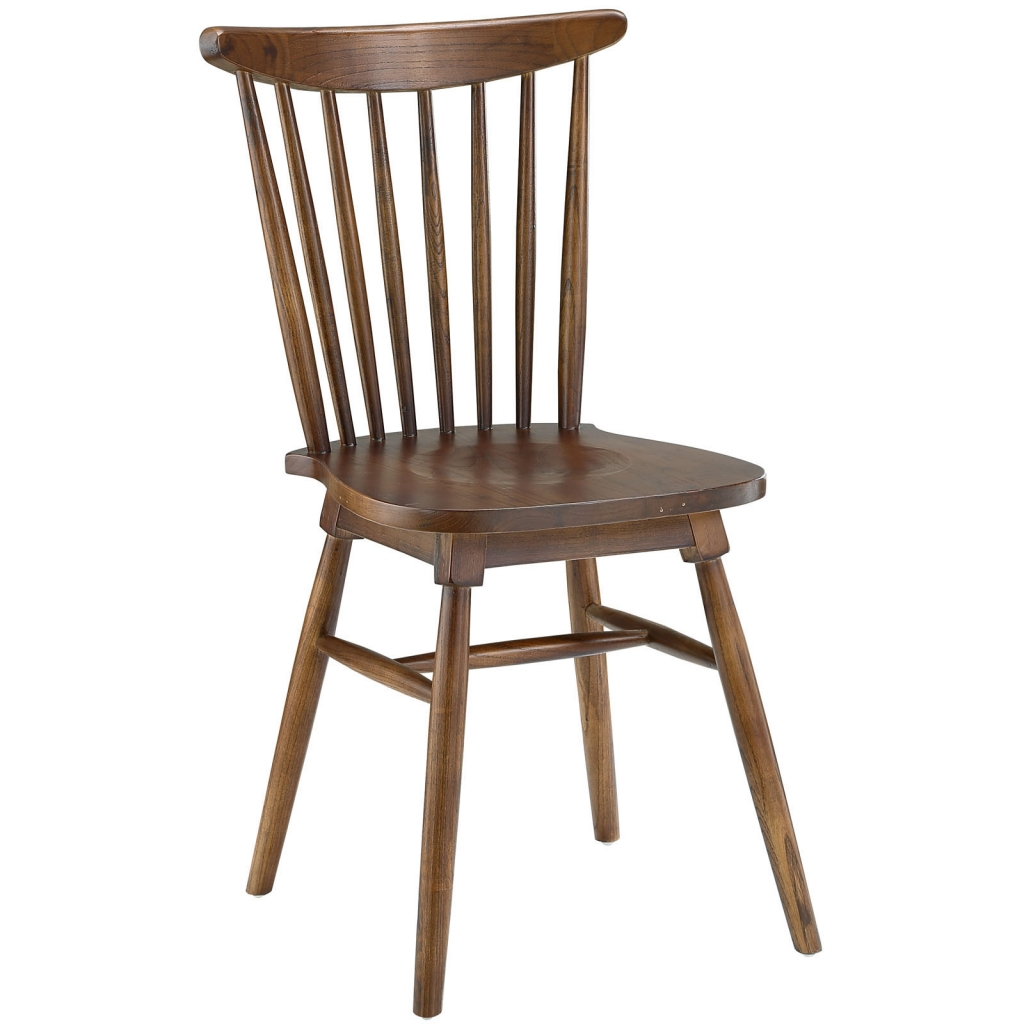 Walnut Wood Frazen Chair 1