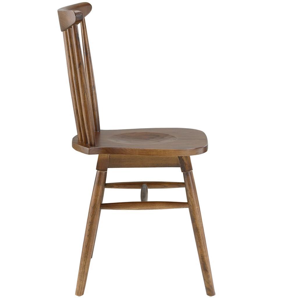 Walnut Wood Frazen Chair 2