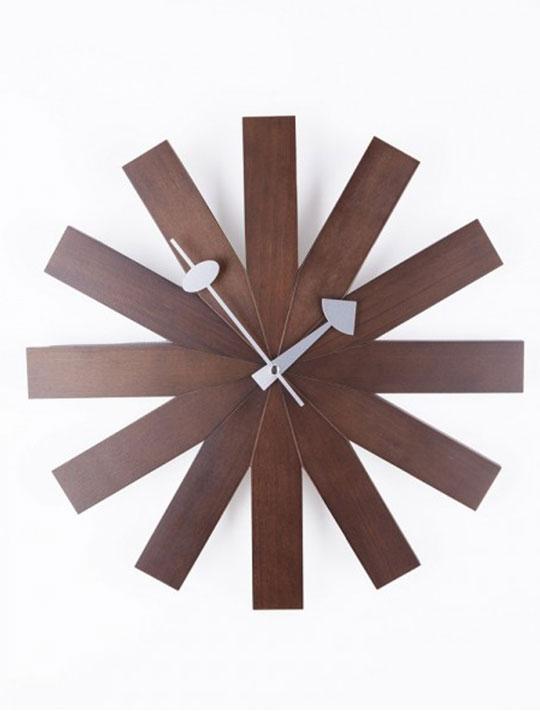 Wood Dial Retro Clock