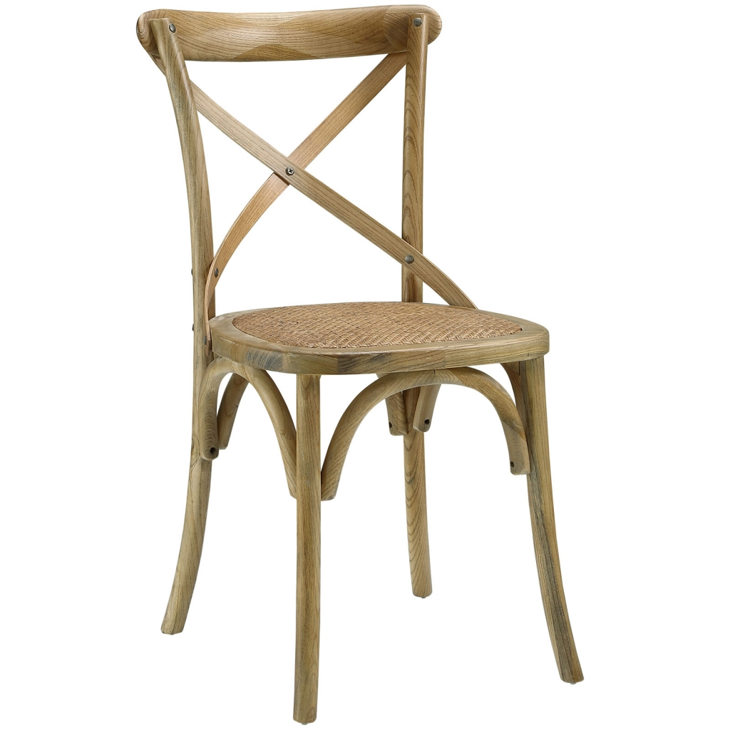 X Natural Wood Chair