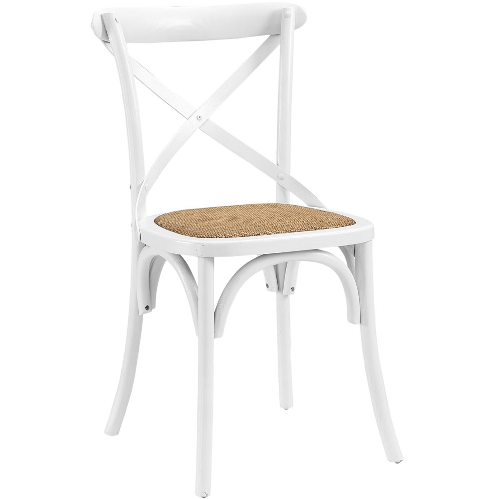 X White Wood Chair 3