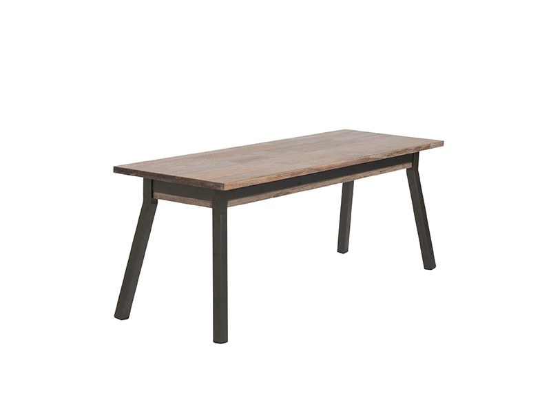 pioneer walnut wood bench