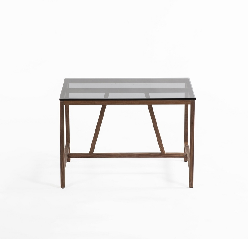 Azzaria Wood Side Table