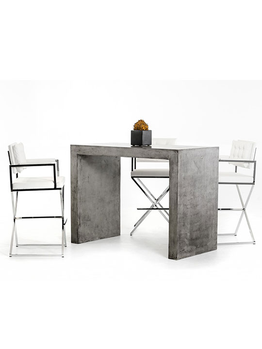 Concrete Bar Table 3