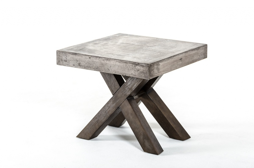 Concrete End Table 1