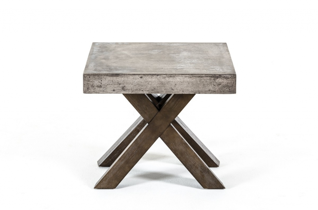 Concrete End Table 2