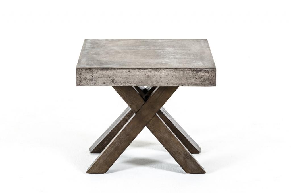 Concrete End Table 2