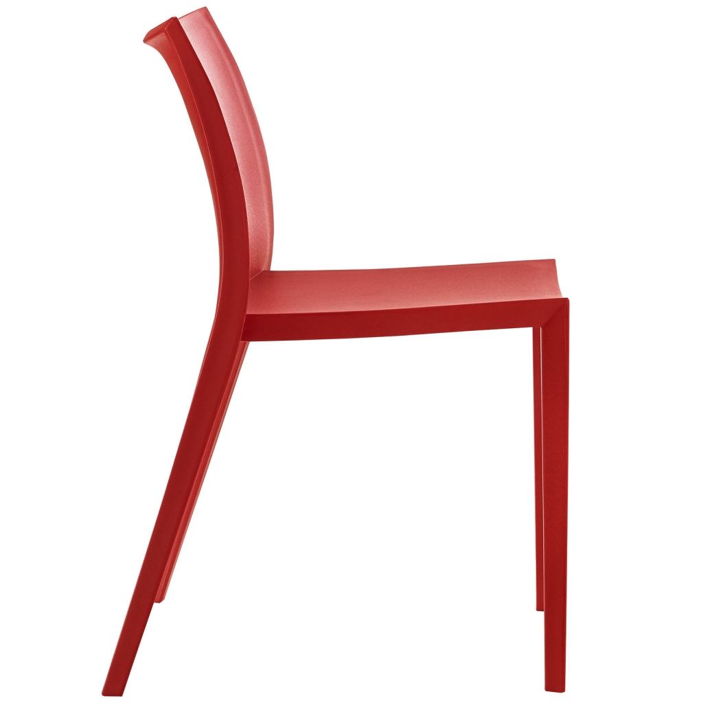 Cove Red Plastic Chair 2