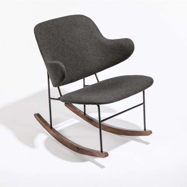 Dark Grey Dublin Rocking Chair