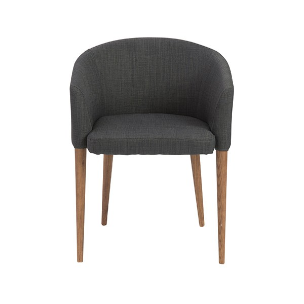 Grey Midtown Armchair 2 Set