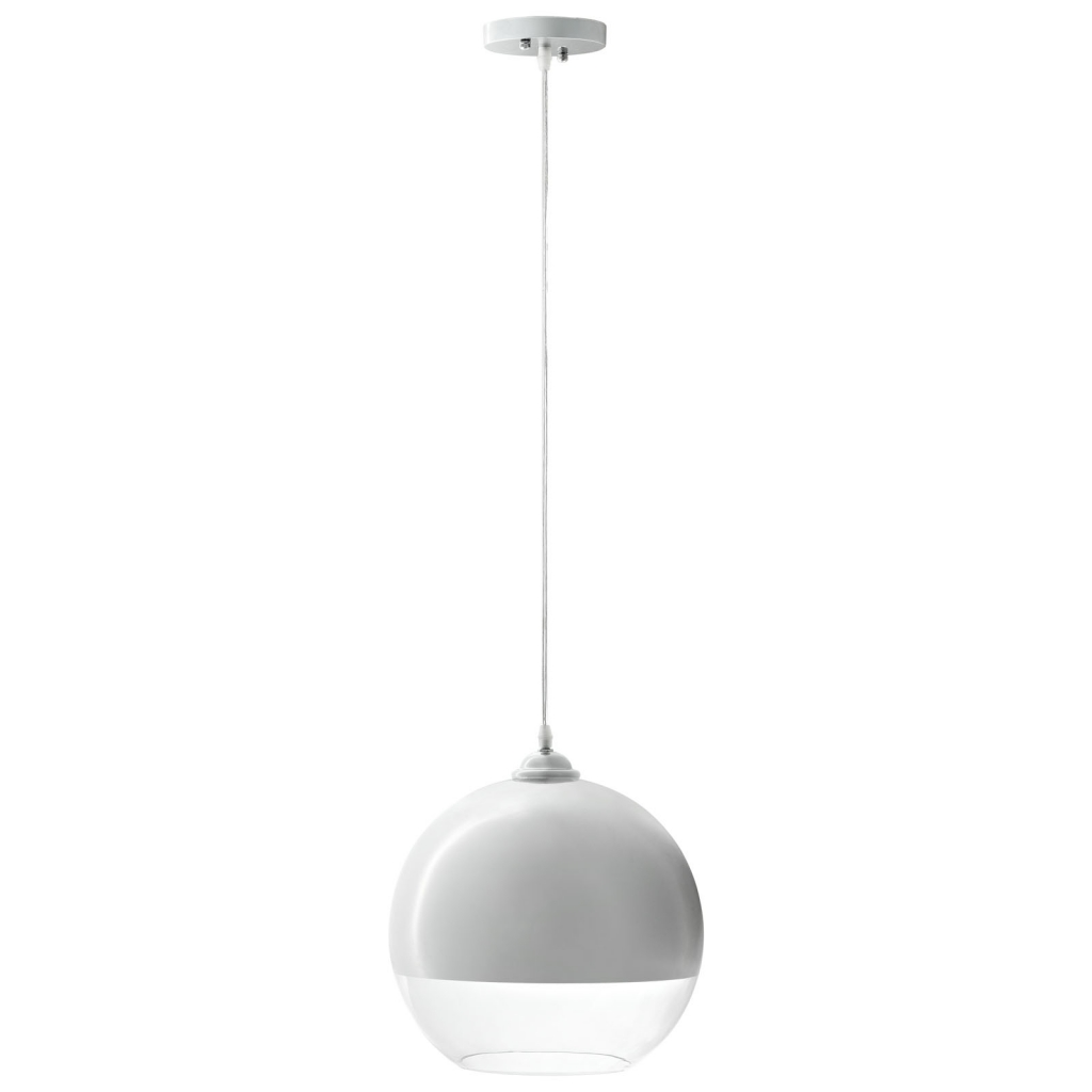 Half Dome White Pendant Light 2