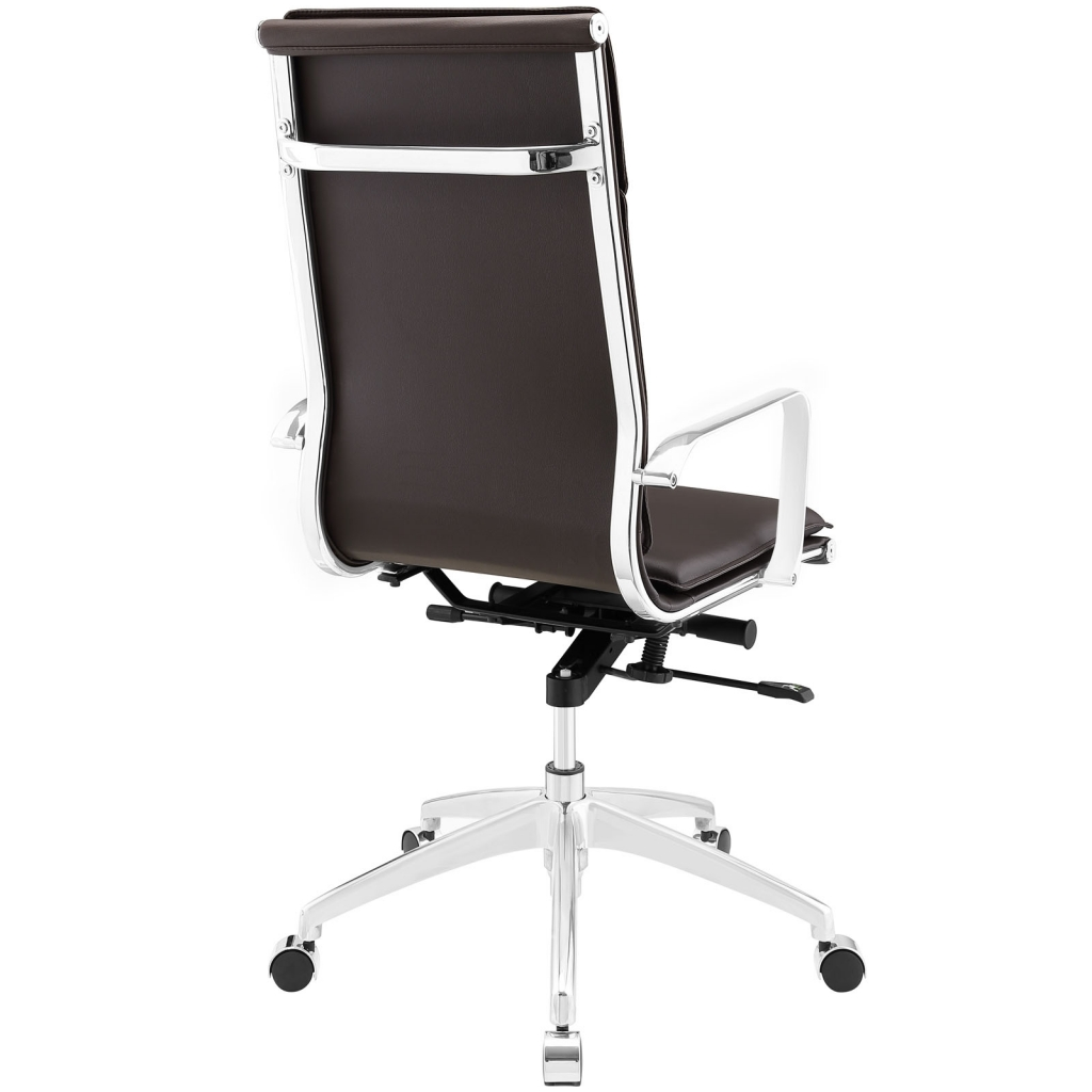 Instant Agent High Back Brown Office Chair 2