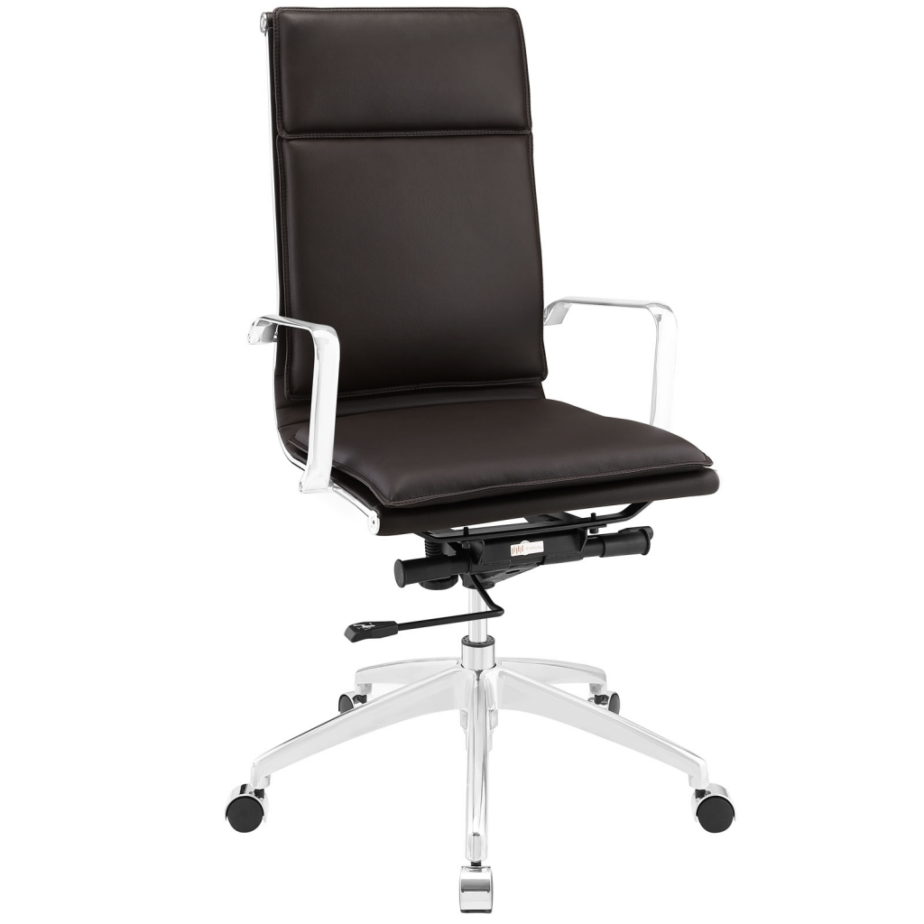 Instant Agent High Back Brown Office Chair