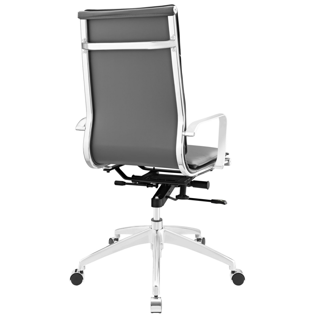 Instant Agent High Back Gray Office Chair 3