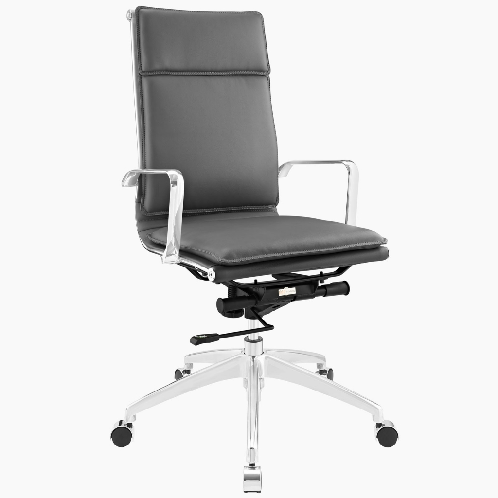 Instant Agent High Back Gray Office Chair