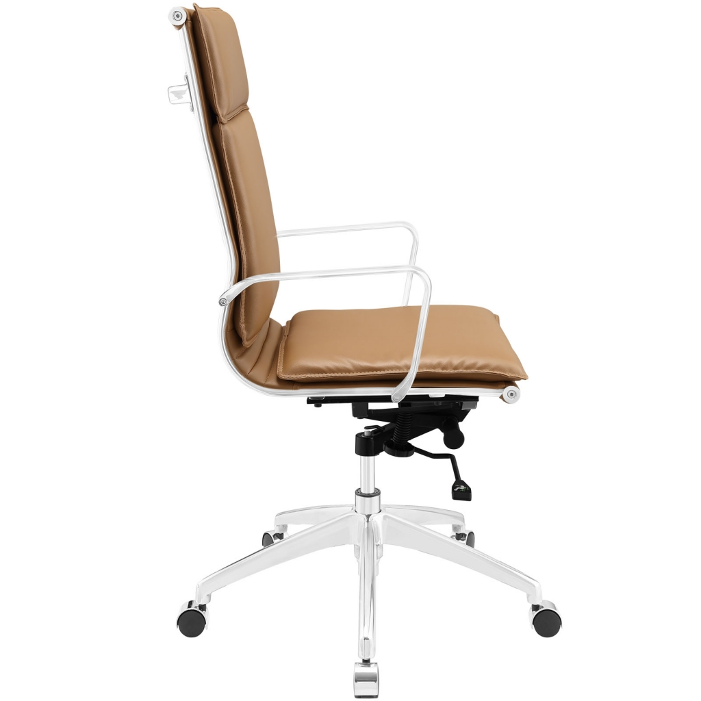 Instant Agent High Back Tan Office Chair 2