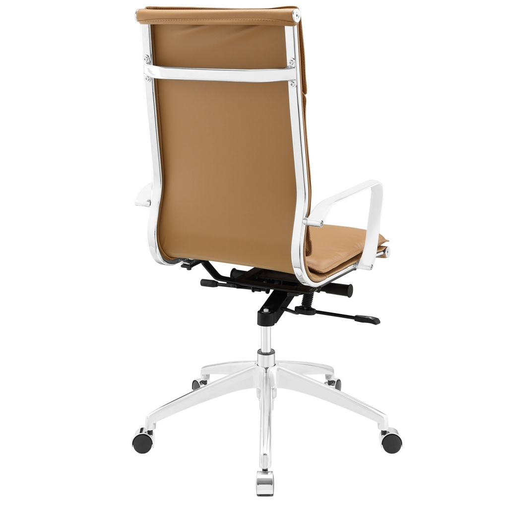Instant Agent High Back Tan Office Chair 3